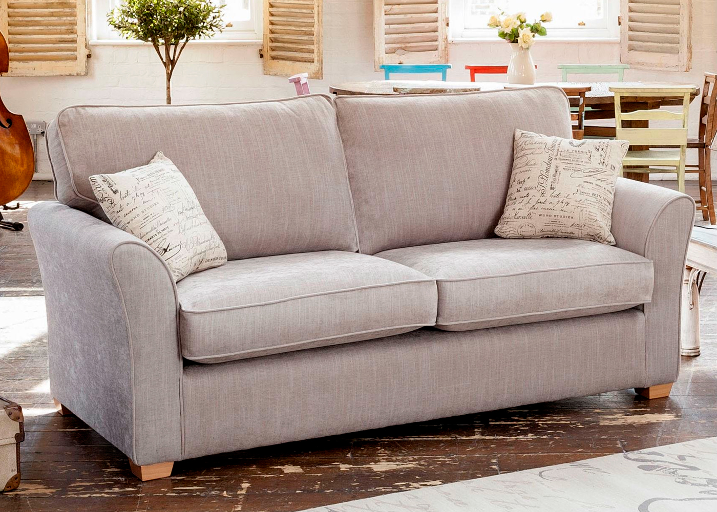 3 seater sofa beds leather corner bed uk alstons padstow midfurn furniture