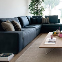 Lounging Sofa Living Room Furniture Sleeper Calligaris Lounge Midfurn Superstore