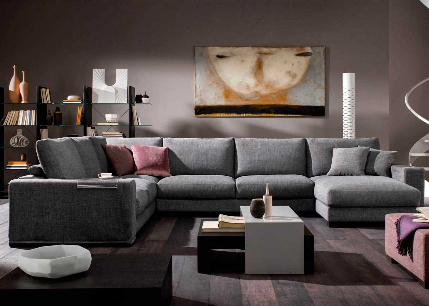 furniture sofa set online wood frame natuzzi domino corner - midfurn superstore