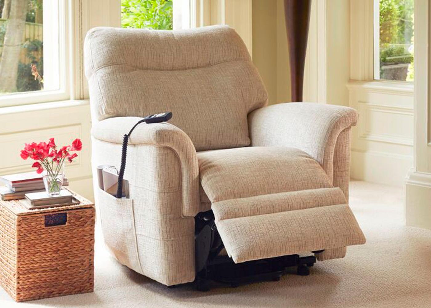 2 seater power recliner sofa green vintage parker knoll seattle - midfurn furniture superstore