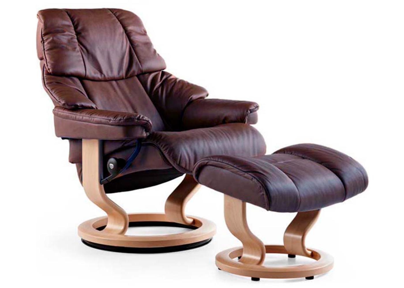 natuzzi revive chair sherpa dish stressless reno and stool - midfurn furniture superstore