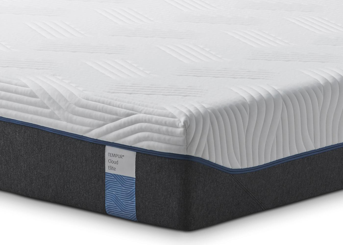 sofas for less uk navy sofa living room tempur® cloud elite mattress - midfurn furniture superstore