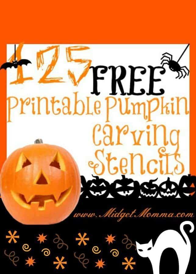 FREE Pumpkin Stencil Printables
