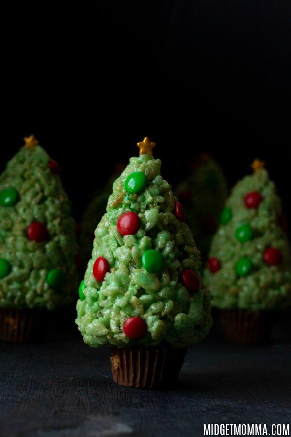 Rice Krispie Christmas Tree