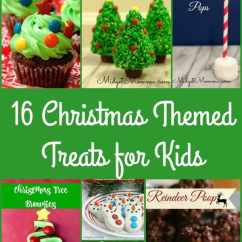 Decor For Kitchen Combo Christmas Themed Treats Kids