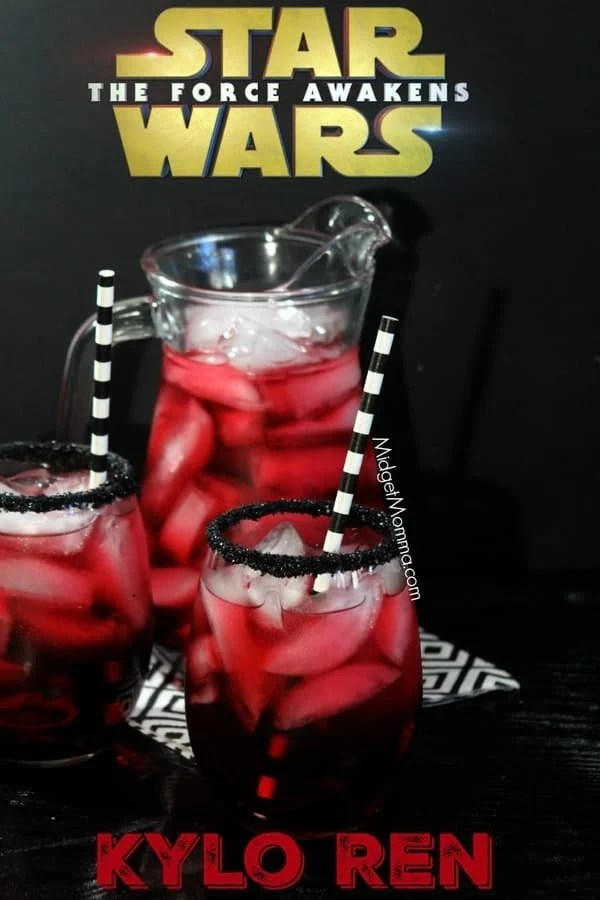 hotel with kitchen bay window star wars kylo ren party drink for kids (easy to make)