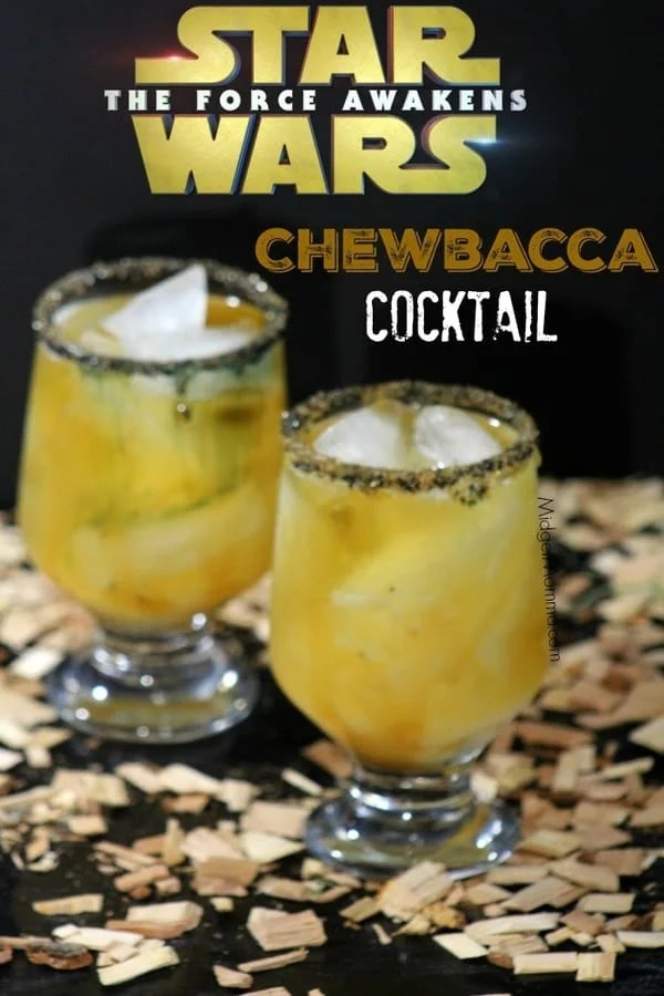 Chewbacca Cocktail Star Wars Inspired Drink