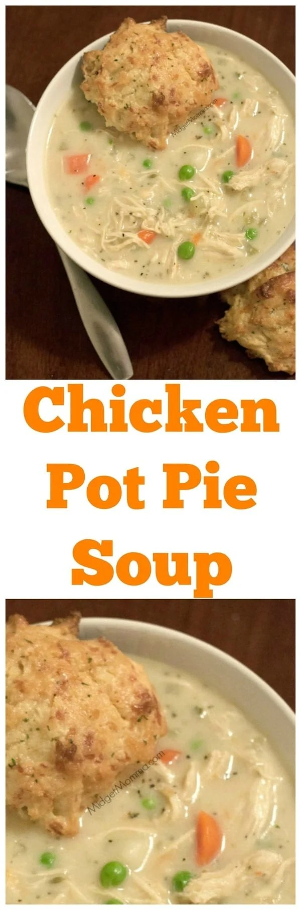 Chicken Pot Pie Soup  MidgetMomma