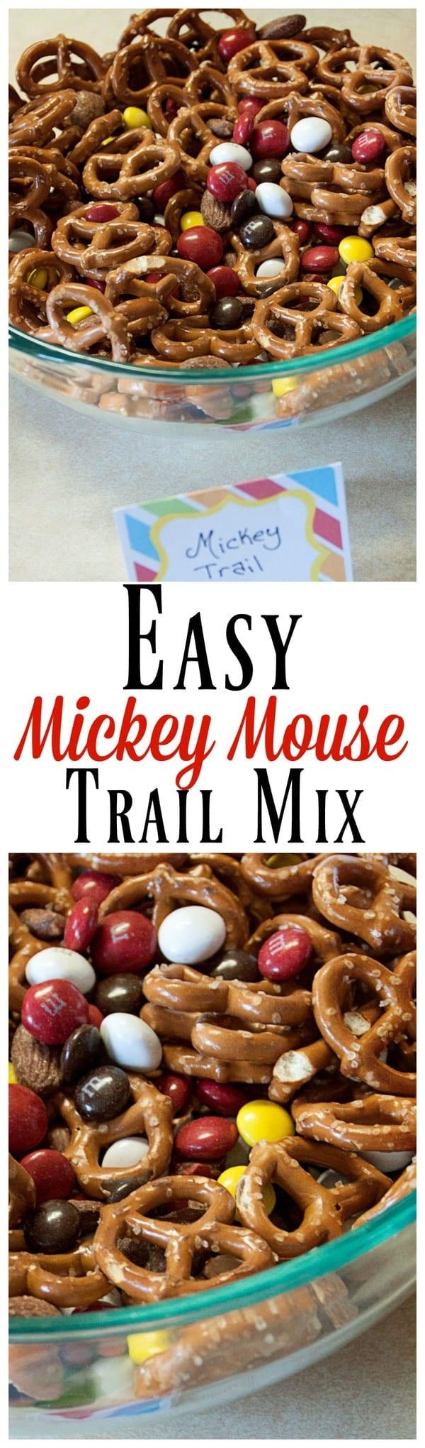 Mickey Mouse Trail Mix  MidgetMomma