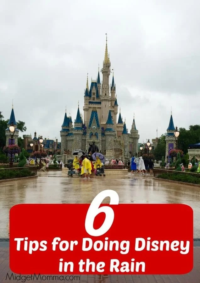 6 Tips For Doing Disney In The Rain Midgetmomma