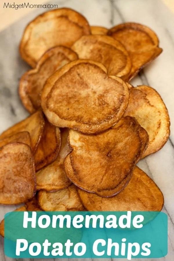 Homemade Potato Chips MidgetMomma