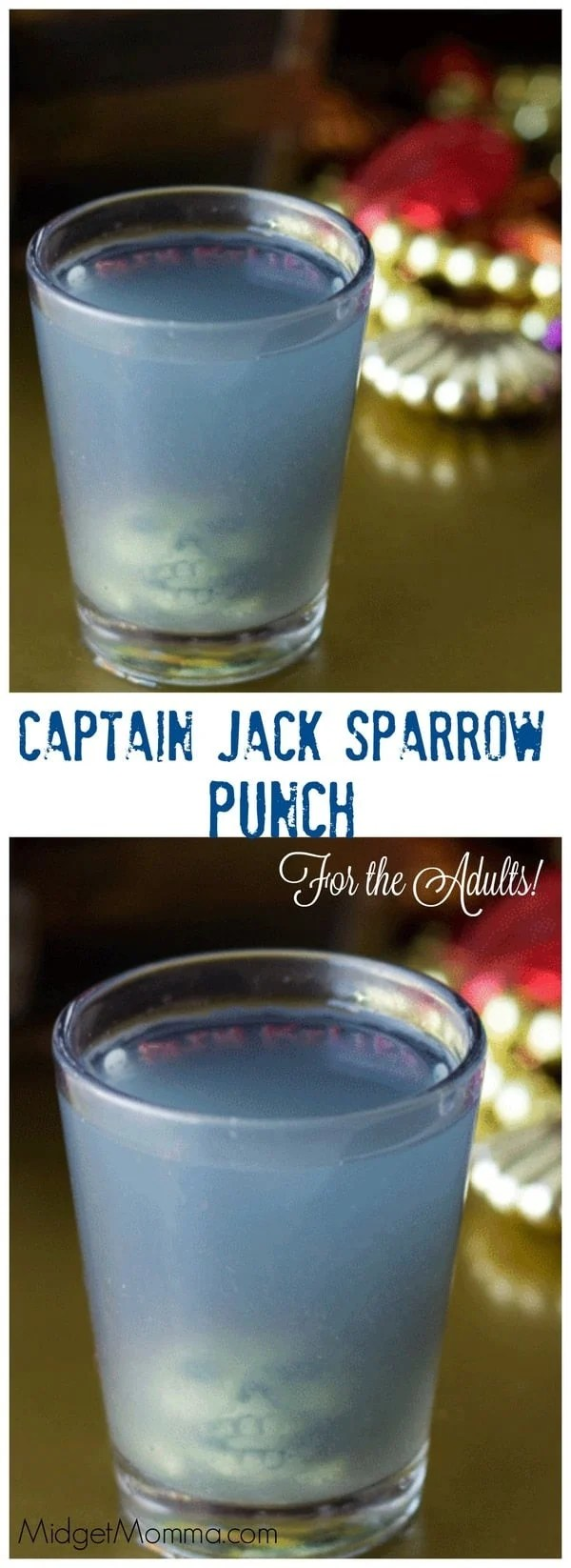 Captain Jack Sparrow Alcoholic Punch For adults