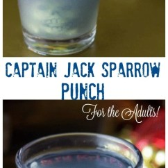 Kitchen Game Chalkboard Art Captain Jack Sparrow (alcoholic) Punch (for Adults ...
