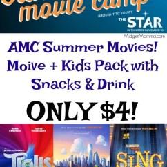 Kitchen Shelf Decor Sink Light Amc Summer Movies! Movie & Snack Pack For $4 • Midgetmomma