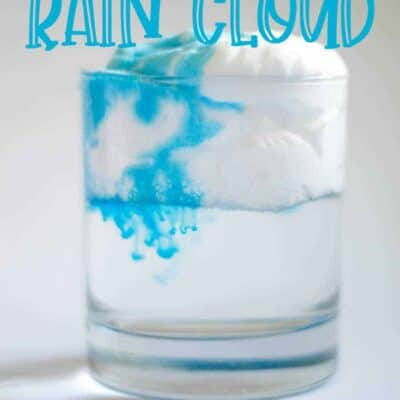 Rain Cloud science experiment