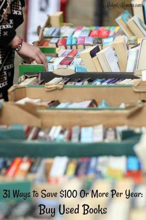 Save Money Buying Used Books