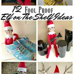 Kitchen Decoration Ideas 4 Hole Faucets 12 Fool Proof Elf On The Shelf • Midgetmomma