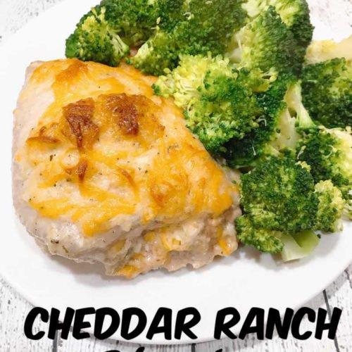 Cheddar Ranch Chicken Thighs \u2022 MidgetMomma