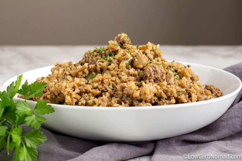Keto Dirty Rice Recipe