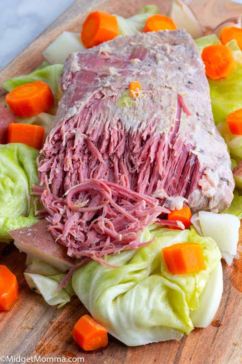 Easy Crock Pot Corned Beef And Cabbage Recipe
