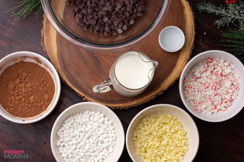 hot chocolate truffles ingredients