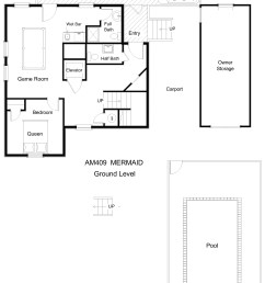 am409 mermaid floor plan level 1 jpg [ 2340 x 3195 Pixel ]