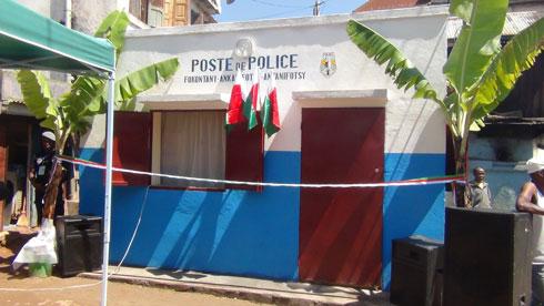 Ankadifotsy : Nahazo Poste de Police