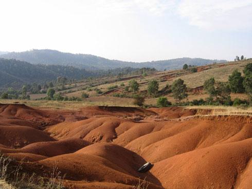 Lutte contre l'érosion du sol : Quand la physique nucléaire s'en mêle