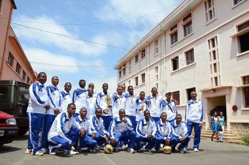 Volley-ball – CCC Zone 7 : La GNVB se classe à la 5e place