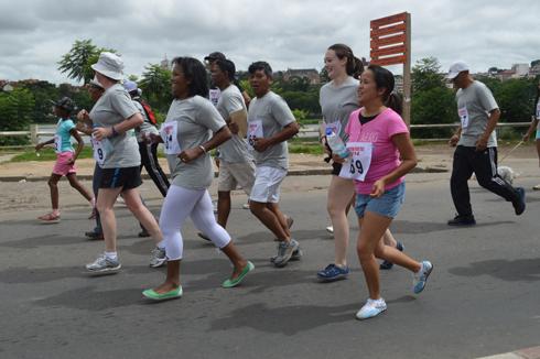 Athlétisme pour tous : Taf, LJJR, USAID et ARO se distinguent
