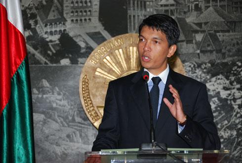 Andry Rajoelina : « Halte aux manœuvres de déstabilisation »