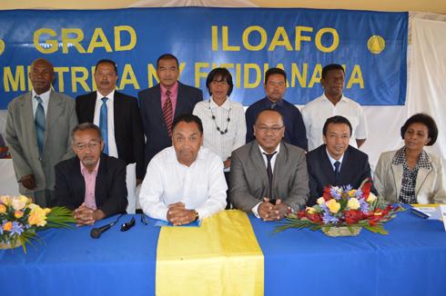 Grad Iloafo : Contre les mouvements de rue