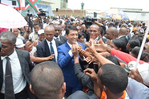 Andry Rajoelina : « L'avenir de Madagascar dépend des nouveaux dirigeants »