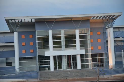Hôpital « manara-penitra » de Tanà : 4 plateaux absorbants pour l'épandage des eaux usées