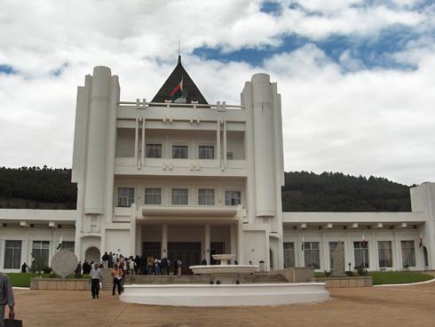 Iavoloha : Passation de pouvoir entre Hery et Rajoelina