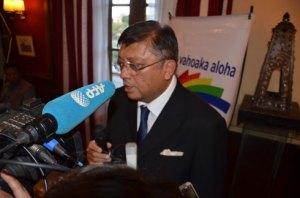 Le candidat Jean Louis Robinson garde sa confiance en attendant le verdict de la CES.