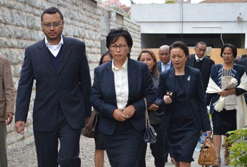 Lalao Ravalomanana : Présence surprise à Mahamasina ?
