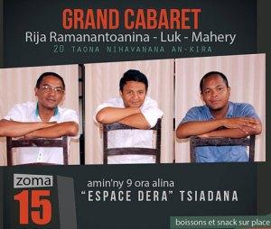 RIja, Luk et Mahery vont faire le bonheur de leurs inconditionnels ce soir. (photo d'archives)