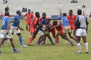 Les joueurs des Cheminots se sont imposés sans difficultés devant Manjakaray. (Photo Nary)