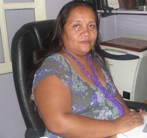 Jeannoda Norotiana, Présidente du SPDTS, non moins un défenseur des droits des travailleurs et des domestiques.
