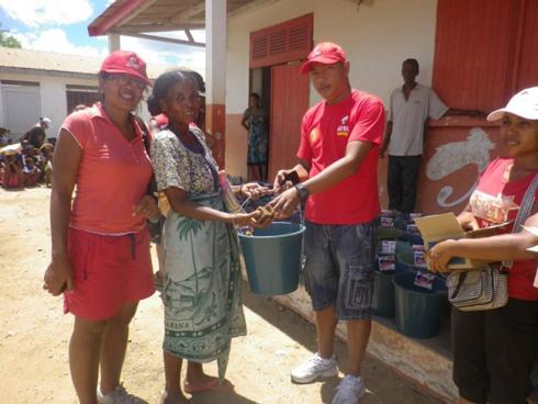 Airtel : Appui aux 300 familles, à Toliara