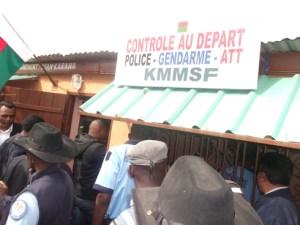 « Ce sont les transporteurs non en règle qui essayent toujours de contester le nouveau système de contrôle », affirment les responsables du KMMSF.