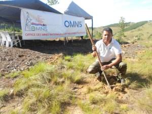 Les employés de l'OMNIS sont venus nombreux au reboisement à Ampangabe.