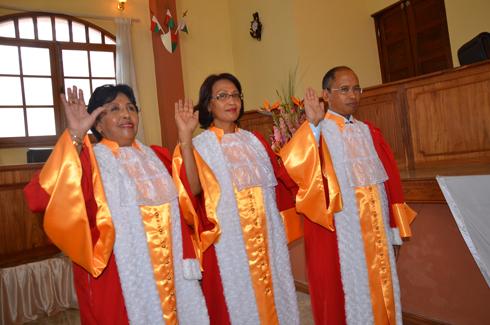 HCC : Trois Hauts Conseillers prêtent serment