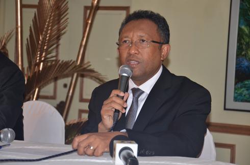 Hery Rajaonarimampianina : Rencontre avec les forces de l'ordre à Manakara avant-hier