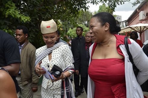 Annick Ratsiraka : « Les femmes Arema ne font pas de la politique »