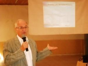 Jacques-Marie Perrier, président d'ACCESMAD, l'association qui a lancé le programme EDUCMAD.
