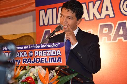 MAPAR au Roxy : Rajoelina va rassembler ses partisans