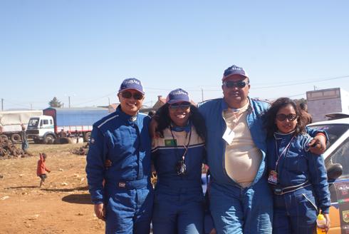 Rallye Dzama : Hery Be en démonstration !