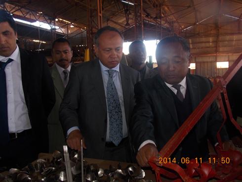 Sidema : Appui du ministère de l'Industrie pour la relance